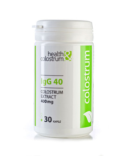 Colostrum kapsle IgG 40 (400 mg) - 30 ks